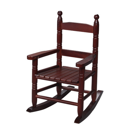 Gift Mark Child's Slat Rocking Chair