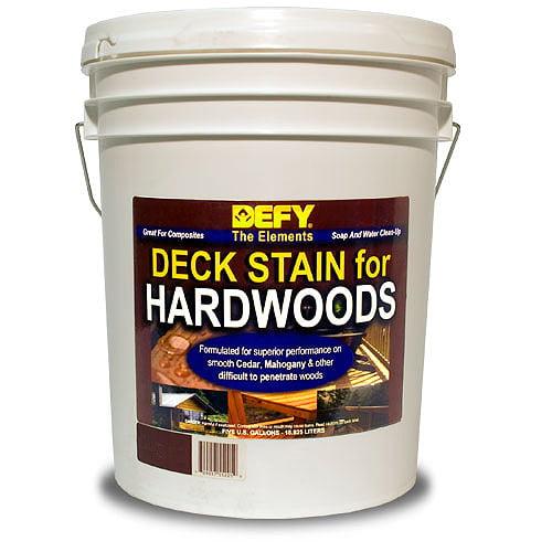 DEFY Semi-Transparent Deck Stain For Hardwoods