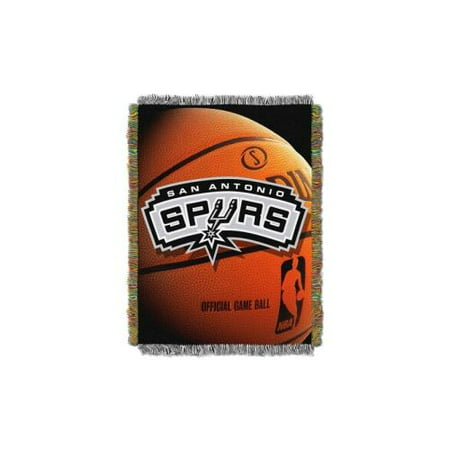 San Antonio Spurs NBA Woven Tapestry Throw Blanket 40x40 40Pack Magnificent Spurs Throw Blanket