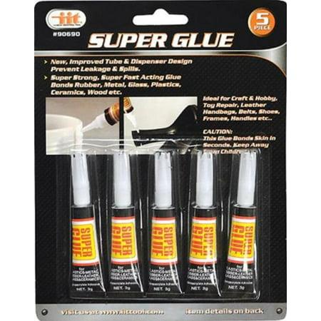 iit 90690 super glue 3 grams each 5 pack. Black Bedroom Furniture Sets. Home Design Ideas