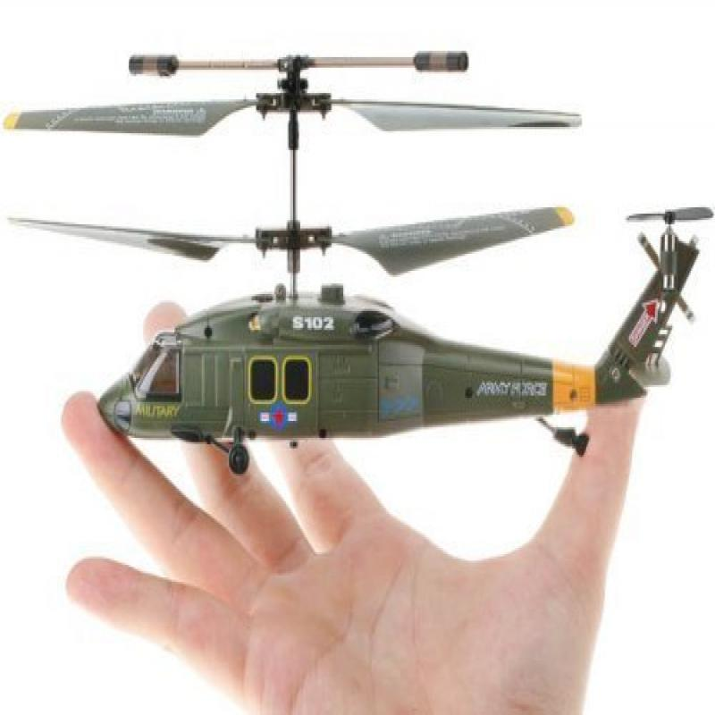 Syma S102G UH-60 Black Hawk Military 3 CH Channel RC IR R...