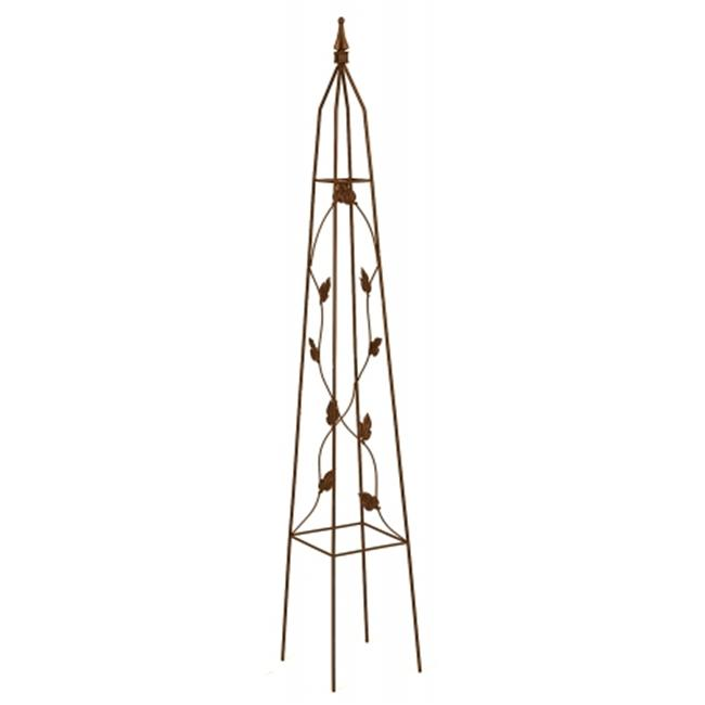 Gardman Usa 5ft. Leaf Motif Obelisk R514 Pack of 6 by