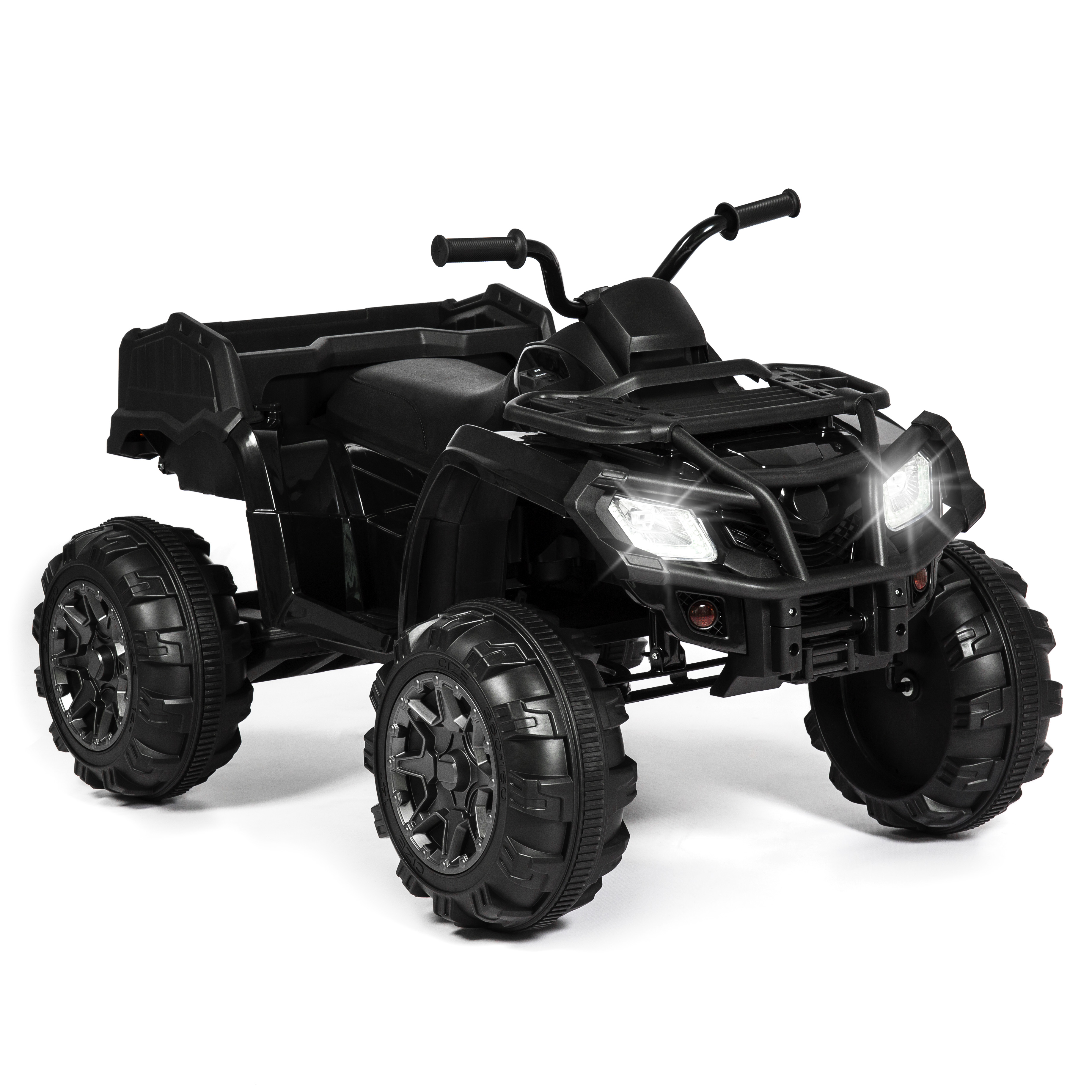 Best Choice Products 12V Kids Powered ATV Quad 4-Wheel Ride-On Car w  2 Speeds, Spring... by Best Choice Products