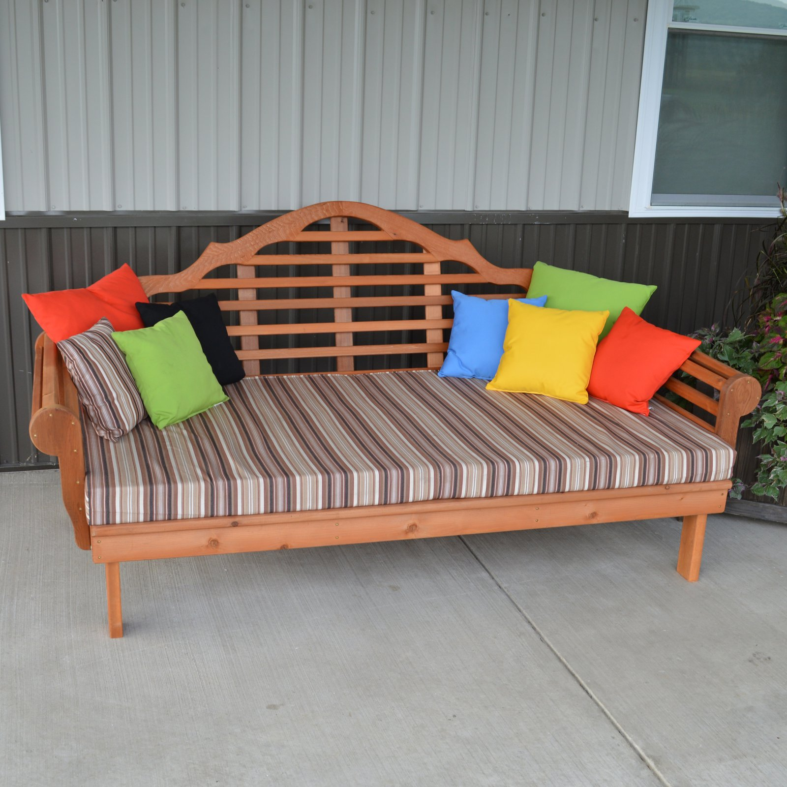 A & L Furniture Western Red Cedar Marlboro Extra Large Daybed