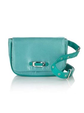 8669e324824 Product Image Naturalizer Belt Bag Wear-at-Waist Fanny Pack Purse Turquoise  Handbag Solid Green Small