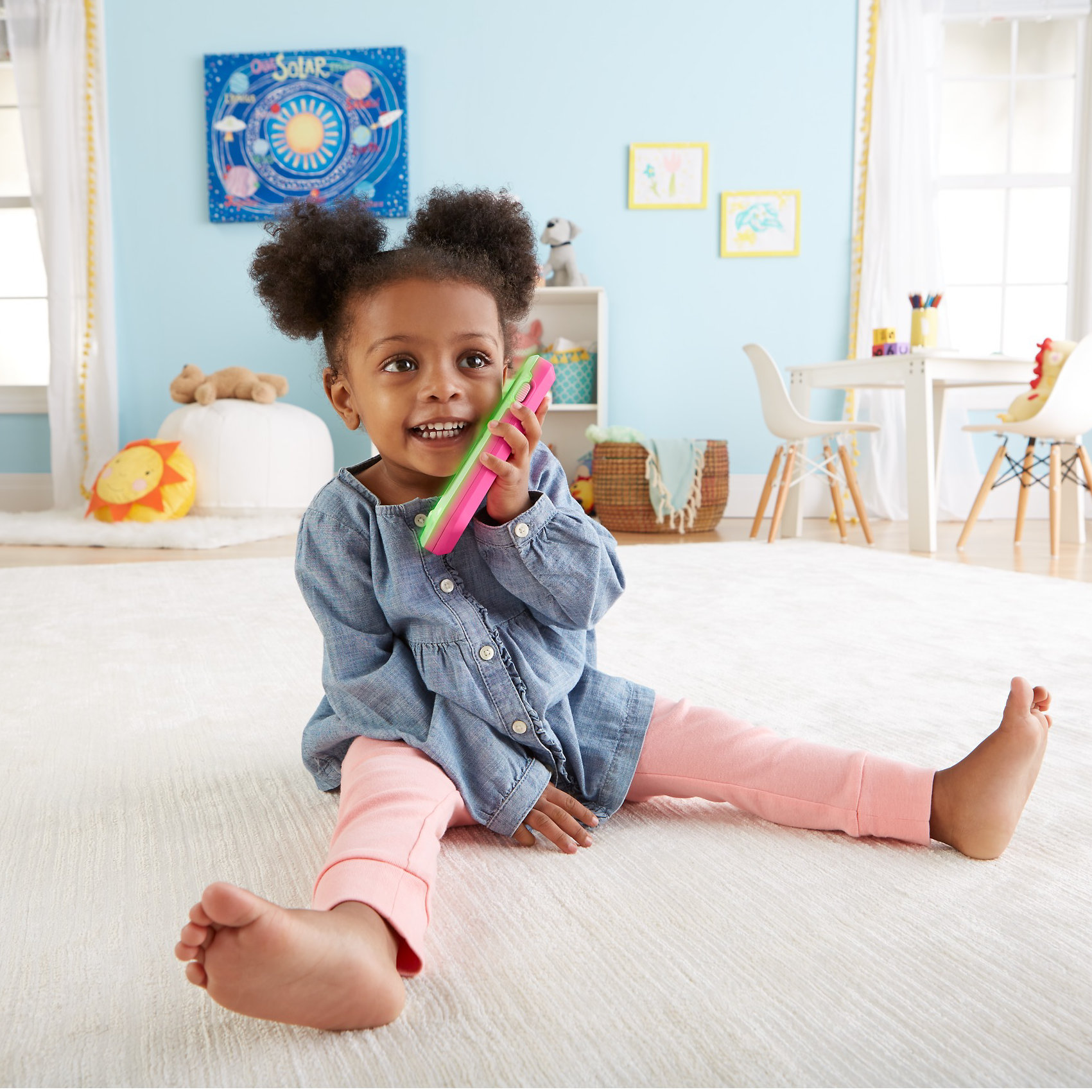 Fisher Price Laugh & Learn Leave A Message Smart Phone, Pink by Fisher-Price
