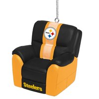Pittsburgh Steelers Reclining Chair Ornament - No Size
