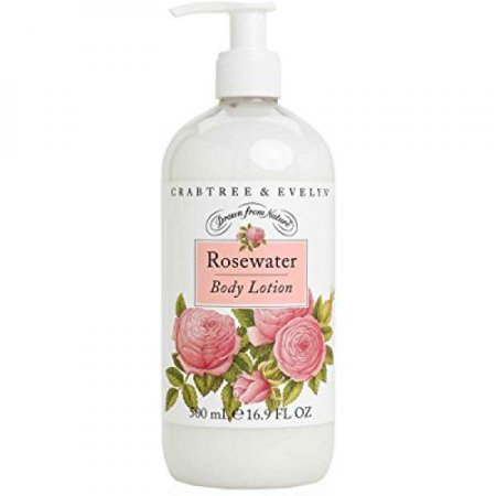 Crabtree & Evelyn Body Lotion, Rosewater, 16.9 fl. oz.