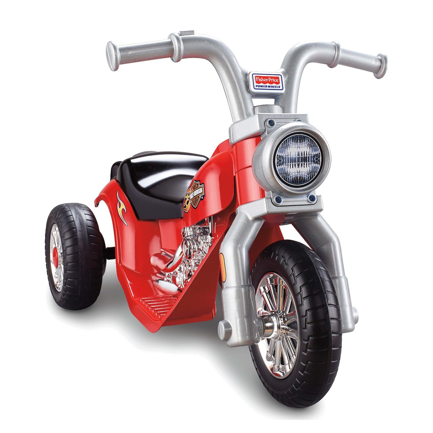 Power Wheels Harley Davidson Lil' Harley Motorcycle 6 Volt Electric Ride-On by Fisher-Price