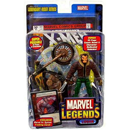 Marvel Legends - Legendary Riders Figure: Logan (Brown Jack with Green Pants) - image 1 of 1