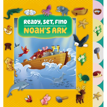 Ready, Set, Find Noah's Ark - (Noah's Ark Toy Set)