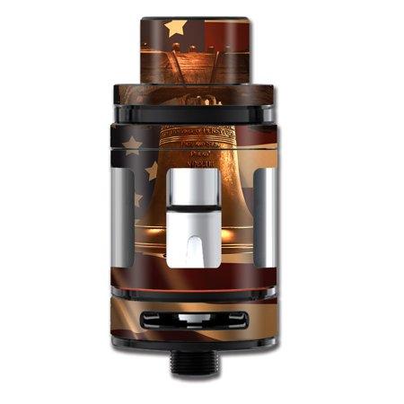 Skin Decal For Smok Mini Tfv8 Big Baby Beast Tank Vape Mod   Liberty Bell America Strong