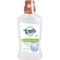 Tom's of Maine Children's Anticavity Juicy Mint Fluoride Rinse, 16 fl oz