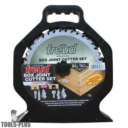 Freud Box Joint Cutter Circular Saw Blade Set