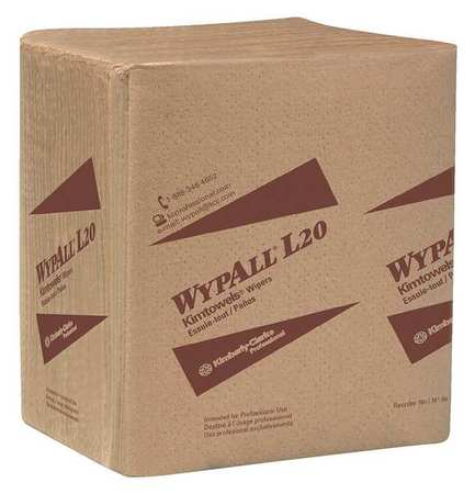 WYPALL Wiper,12-1/2In x 14-13/32In,68Sheets 47011