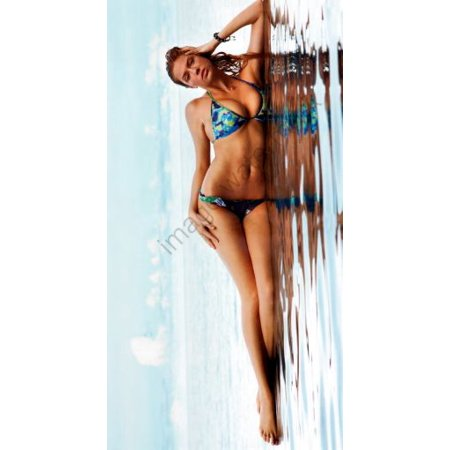 Kate Upton 14Inx36in Small Banner Poster