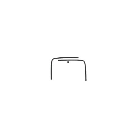Eckler's Premier  Products 33179231 Camaro Headliner Trim Molding Rear