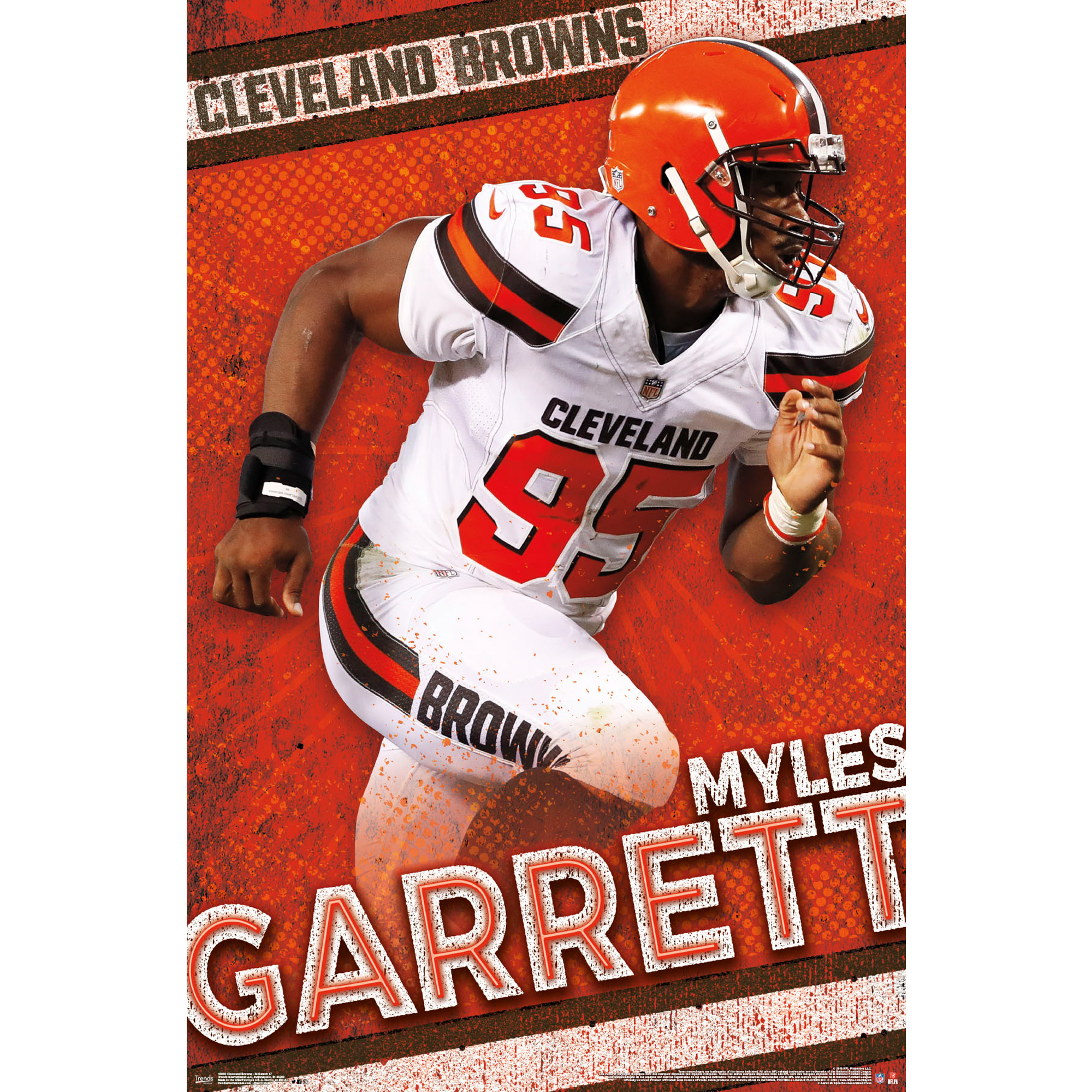 Myles Garrett Cleveland Browns 22'' x 34'' Player Poster - No Size