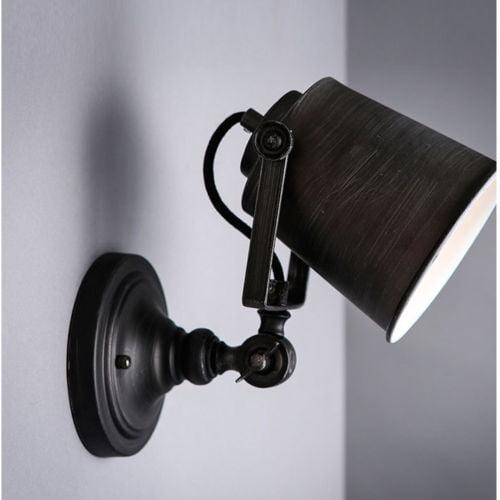 Meigar Vintage Retro Loft Rustic Iron Wall Sconce Porch Light Lamp Fixture Garden Indoor Outdoor Decor