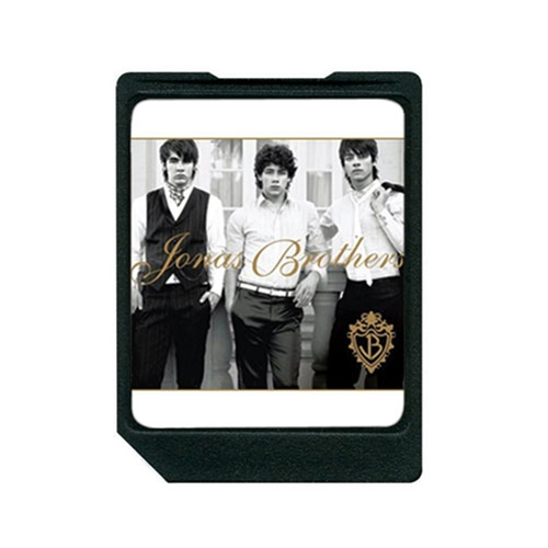 Disney DS20028 Mix Clip Digital Music Card Jonas Brothers with MMC/SC Card Slots
