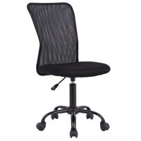 Ergonomic Office Chair Mesh Desk Chair Task Computer Chair Adjustable Stool Back Support Modern Executive Rolling Swivel Chair for Women&Men, Black