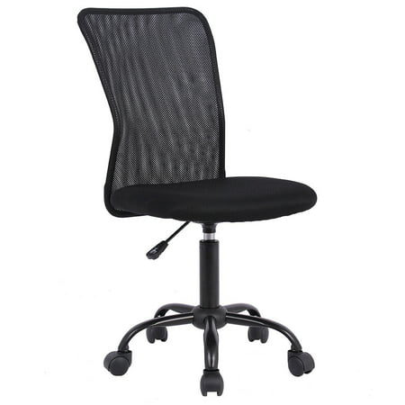 Ergonomic Office Chair Mesh Desk Chair Task Computer Chair Adjustable Stool Back Support Modern Executive Rolling Swivel Chair for Women&Men, Black ()