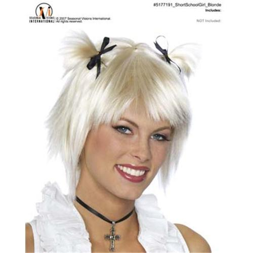 Costumes For All Occasions MR177191 Short School Girl Blonde