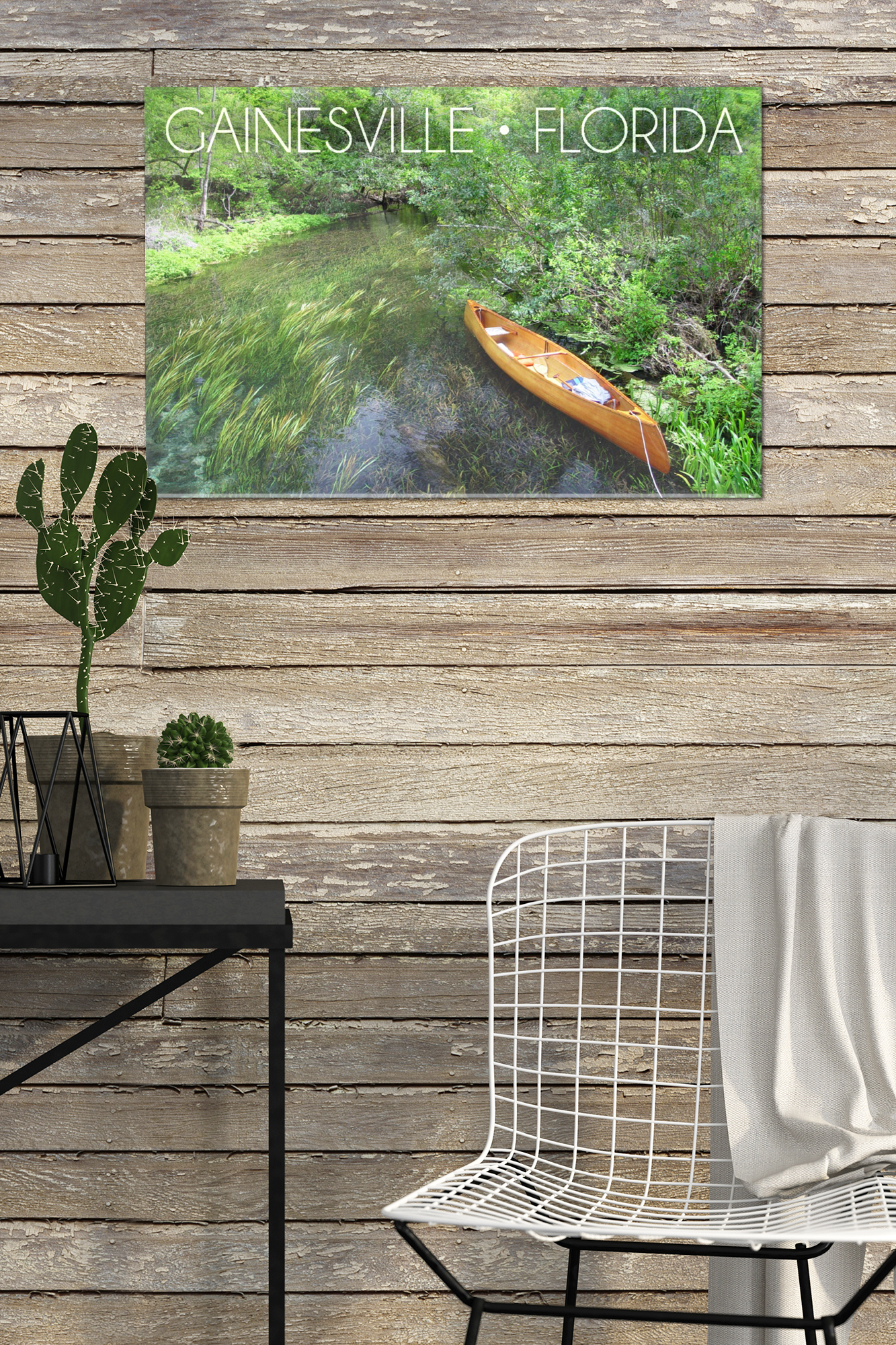 Gainesville florida headwaters of the ichetucknee lantern press photography 12x8 acrylic wall art gallery quality walmart com