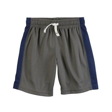 2 Orange Boy Shorts (Carter's Baby Boys' Pull-On Mesh Shorts )