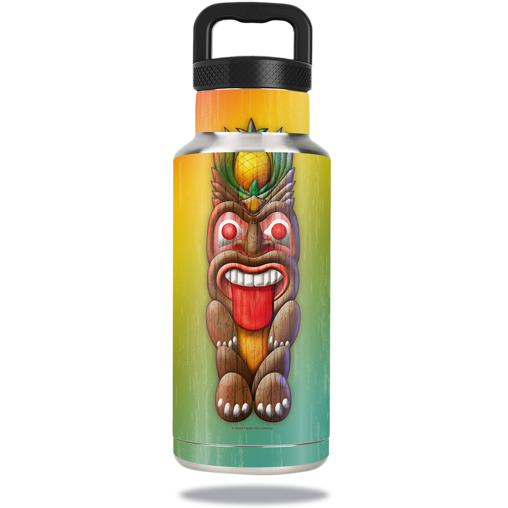 Skin For Ozark Trail Water Bottle 36 oz – Tiki Man   MightySkins Protective, Durable, and Unique Vinyl Decal wrap cover   Easy To Apply, Remove, and Change Styles   Made in the USA
