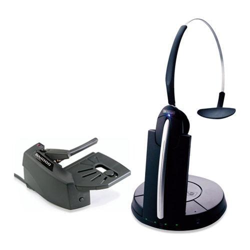 Jabra GN9330E Mono Wireless Headset & Lifter w/ PeakStop Tech & Noise-Canceling Microphone