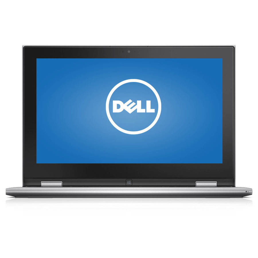 "Dell Silver 11.6"" Inspiron 11 3157 Laptop PC with Intel Pentium N3700 Processor, 4GB Memory, touch screen, 128GB Solid State Drive and Windows 10 Home"
