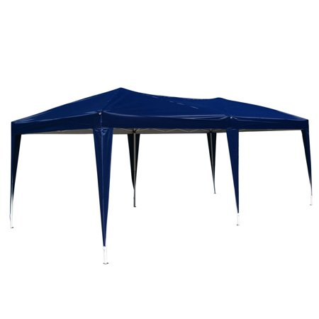 - Top Knobs Outdoor Portable Adjustable Instant Pop Up Gazebo Canopy Tent (10'x 20' Tent, Blue)