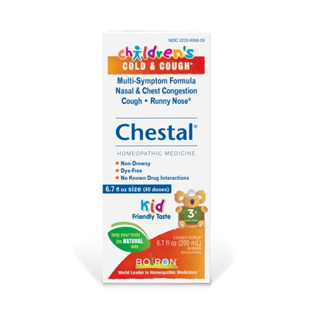 Boiron Children's Chestal Cold & Cough, 6.7 fl oz