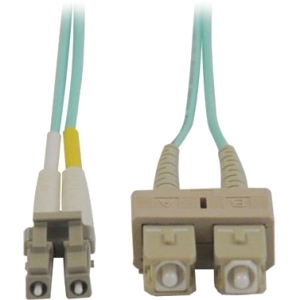Tripp Lite Fiber Optic Duplex Patch Cable, 3'
