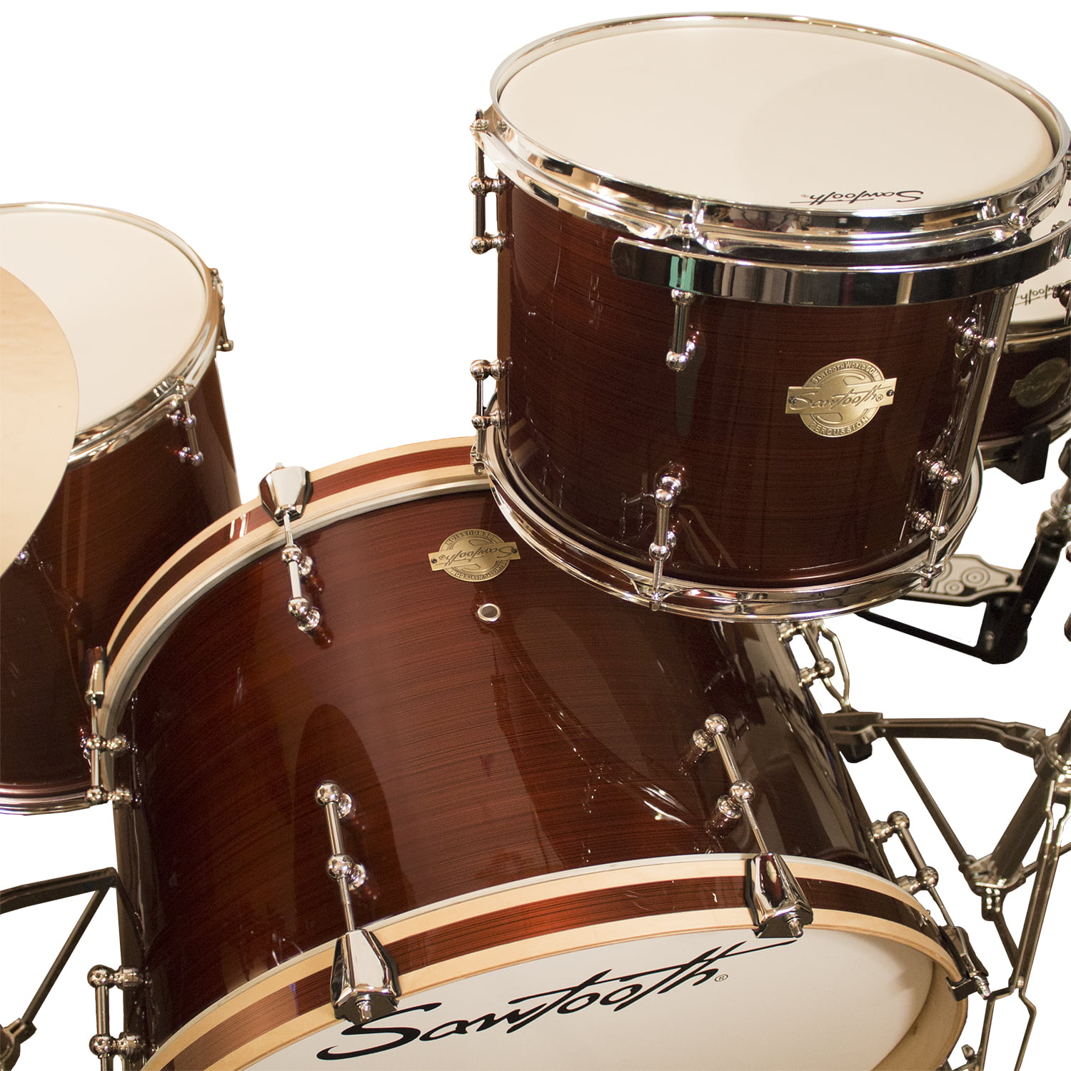 Sawtooth Command Series 4 Piece Drum Set Shell Pack With 24 Bass Diagram Premier 9 Peice Kit Red Streak