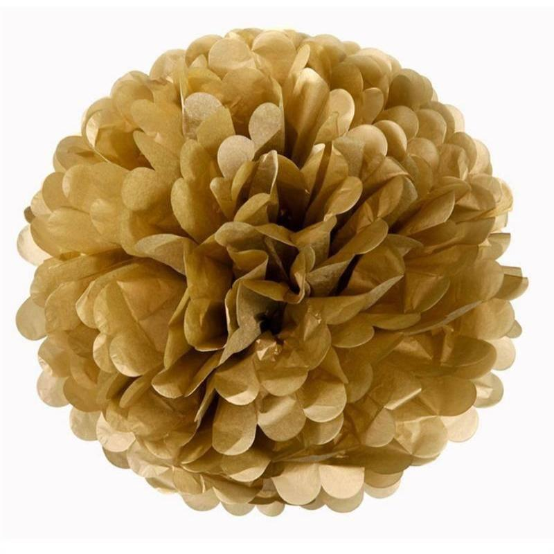 Efavormart 12 PCS Paper Tissue Wedding Birthday Party Banquet Event Festival Paper Flower Pom Pom 8 inch