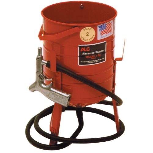 Siphon Feed Sand Blaster Kit with 50lb Capacity