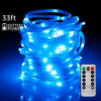 TORCHSTAR Christmas LED String Lights, Color Changing Outdoor String Lights
