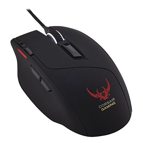 Corsair Gaming Mouse Sabre RGB Optical - Black - CH-9000056 Certified Refurbished