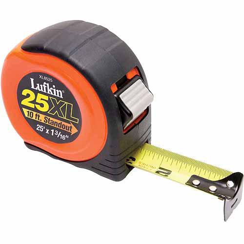 "Apex Tool Group, LLC-Tools XL8525 1-3/16"" X 25' XL Power Return Tape Measure"
