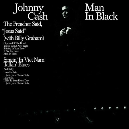 Man In Black (180 Gram Audiophile Translucent Blue Vinyl/Limited 45th Anniversary Edition/Gatefold Cover) By Johnny Cash Format