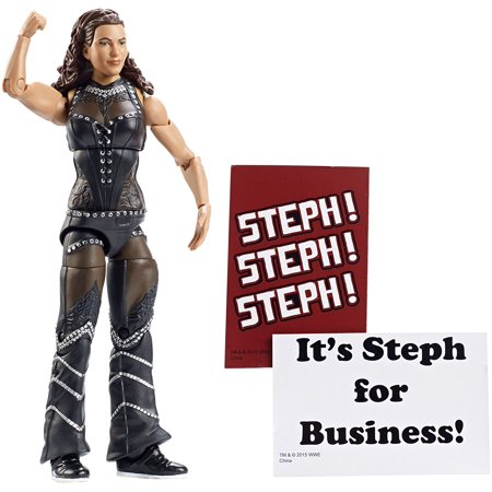 Wwe Elite Collection Series  37  Stephanie Mcmahon  Capture The Explosive Drama And Unforgettable Action Of The Wwe With This Elite Collection    By Mattel