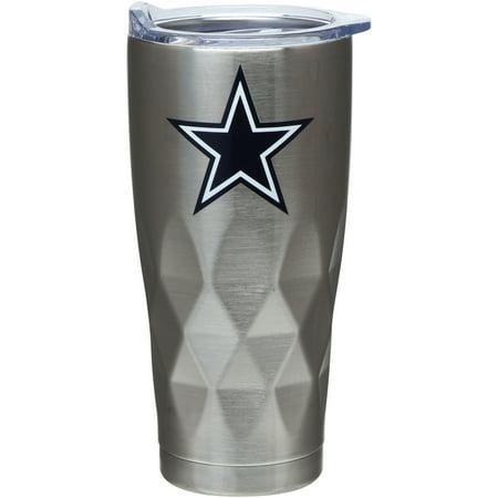 Dallas Cowboys 22oz. Diamond Bottom Stainless Steel Tumbler - No Size