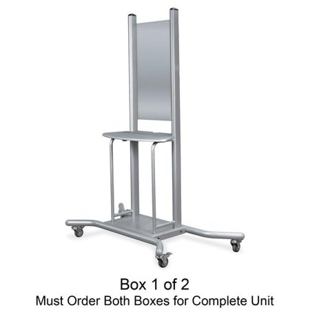 Balt Mobile Stand Features:  -Material: Platinum.  -Mount and short throw arm not included.  -Mobile stand material: Steel with plastic parts.  -Allows free moving within or between rooms.  -Adds flexibility to interactive whiteboard by.  -Board is sold separately.  Product Type: -Map Rail or Hanger. Dimensions:  Overall Height - Top to Bottom: -3 .  Overall Width - Side to Side: -31 .  Overall Depth - Front to Back: -57.5 .  Overall Product Weight: -95 lbs.  Markers Whiteboard Dry Erase Expo Marker Accessories Board Boards Institutional White Drawers Hardware Library Style holidays, christmas gift gifts for girls boys