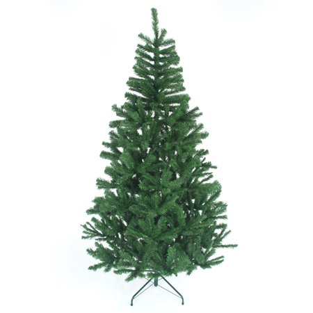 4ft Green Traditional Christmas Tree Imperial 230 Tips  Artificial Tree Metal Stand