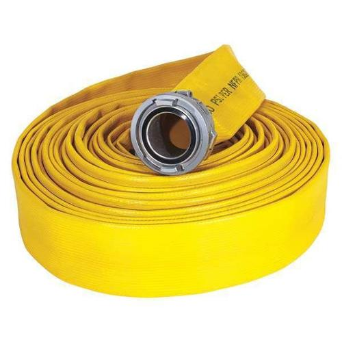 ARMORED TEXTILES G50H15RY50N Attack Line Fire Hose, 50 ft. L, 300 psi