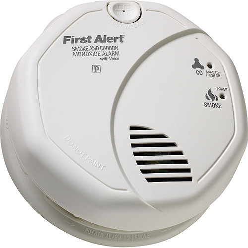First Alert SCO7CN Battery Operated Combination Smoke and Carbon Monoxide Alarm with Voice Location