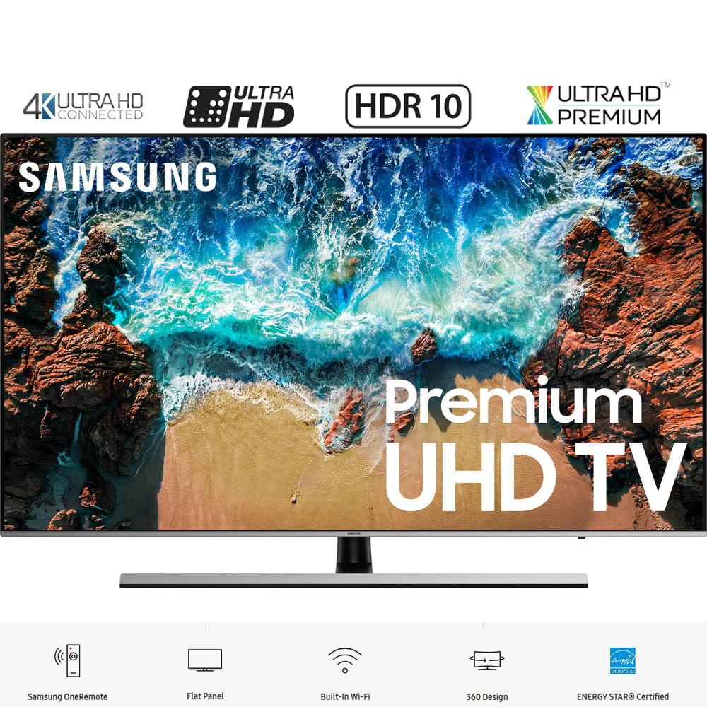 "Samsung UN65NU8000 65"" NU8000 Smart 4K UHD TV (2018 Model) – (Certified Refurbished)"