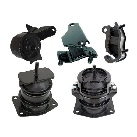 K0437 Fits 2000-2003 Acura TL 3.2L Engine Motor & Transmission Mount Set 5 PCS : A4519HY, A6552, A4507HY, A6582, (03 Acura Tl Type S 0 60)